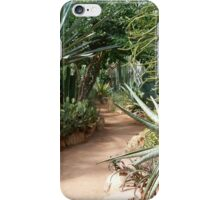 Up the garden path ... iPhone Case/Skin
