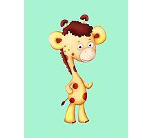 Cool Giraffe Photographic Print