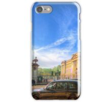 Buckingham Palace And London Taxis iPhone Case/Skin