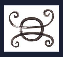 Alchemical Symbols - Nitre Oil Nitreoil One Piece - Short Sleeve