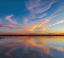 God's Mirror - Wellington Point Qld Australia by Beth  Wode