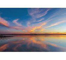God's Mirror - Wellington Point Qld Australia Photographic Print