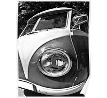 Eye of a german camper Poster