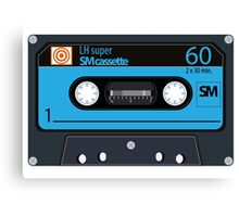 Cassette - vintage audio tapes Canvas Print