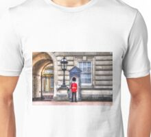 Buckingham Palace Queens Guard Art Unisex T-Shirt