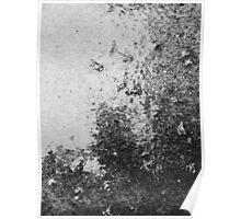 Earth Sweat Design (Noir Color) Poster