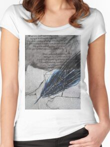 the quill Women's Fitted Scoop T-Shirt
