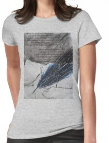 the quill Womens Fitted T-Shirt