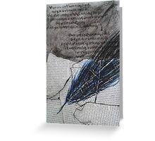 the quill Greeting Card