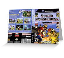 Super smash brothers melee for the nintendo gamecube Greeting Card