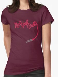 New York Dolls Womens Fitted T-Shirt