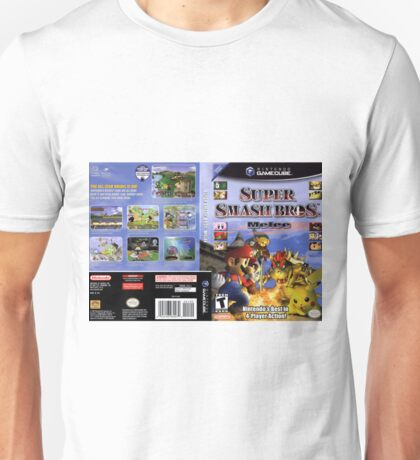 Super smash brothers melee for the nintendo gamecube Unisex T-Shirt