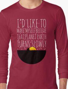 OWL CITY FIREFLIES QUOTE Long Sleeve T-Shirt