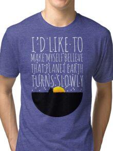 OWL CITY FIREFLIES QUOTE Tri-blend T-Shirt
