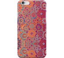 Psychedelic Ombre Flower Doodle iPhone Case/Skin