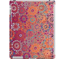 Psychedelic Ombre Flower Doodle iPad Case/Skin