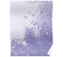 Earth Sweat Design (Scampi Purple Color) Poster