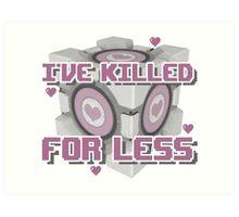 Killed for Less Art Print