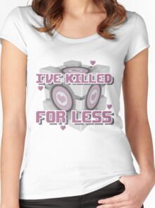 Killed for Less Women's Fitted Scoop T-Shirt