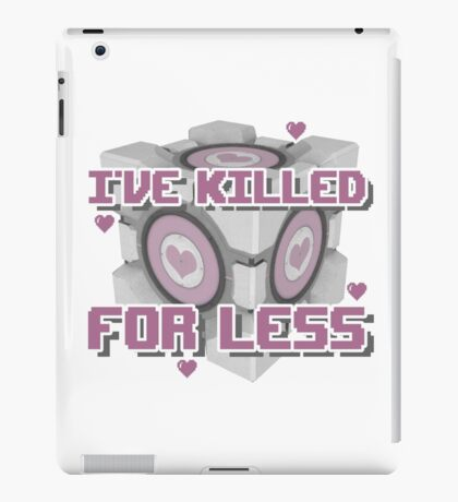 Killed for Less iPad Case/Skin