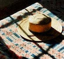 Hat on Bed by Susan Savad