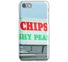 English holiday-maker in Brighton iPhone Case/Skin