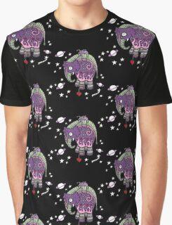 Interstellar Elephant Tee Graphic T-Shirt