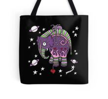 Interstellar Elephant Tee Tote Bag