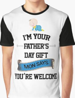happy father's day  Graphic T-Shirt