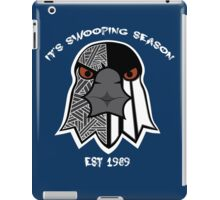 "Magpie Face Warrior 2 ""IT'S SWOOPING SEASON"" iPad Case/Skin"