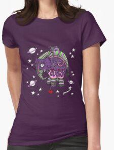 Interstellar Elephant Tee Womens Fitted T-Shirt