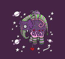 Interstellar Elephant Tee Womens Fitted T-Shirt