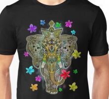 Elephant Zentangle Doodle Art  Unisex T-Shirt