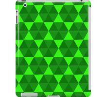 Green Hex iPad Case/Skin