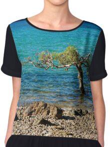A Tree in the Sea Women's Chiffon Top