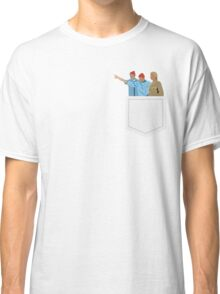 Minimal The Life Aquatic with Steve Zissou Poster Classic T-Shirt