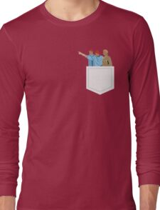 Minimal The Life Aquatic with Steve Zissou Poster Long Sleeve T-Shirt