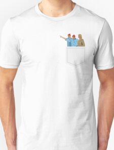Minimal The Life Aquatic with Steve Zissou Poster Unisex T-Shirt