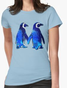 Tux love Womens Fitted T-Shirt