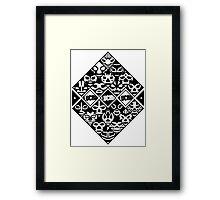 LUCHA Framed Print