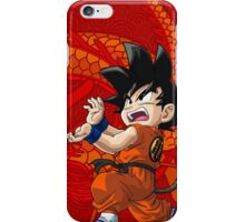 GOKU - DRAGON iPhone Case/Skin