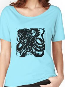 Octopus - Museum Linocut Collection Women's Relaxed Fit T-Shirt