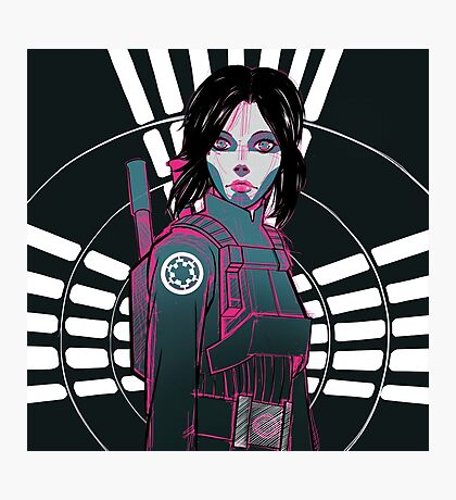 Star Wars Rogue One - Jyn Erso Photographic Print