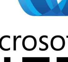 microsoft .net programming language Sticker