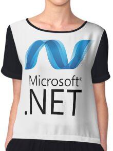 microsoft .net programming language Chiffon Top