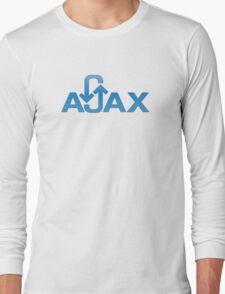 ajax programming language Long Sleeve T-Shirt
