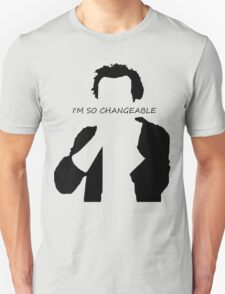 Jim Moriarty I am so changeable T-Shirt