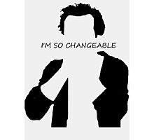 Jim Moriarty I am so changeable Photographic Print