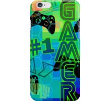 #1 GAMER iPhone Case/Skin