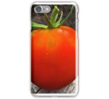 Ripe and Ready Tomato  iPhone Case/Skin
